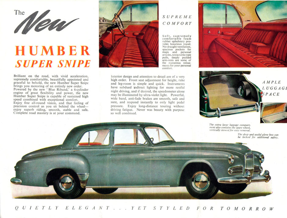 Humber Super Snipe MarK IV
