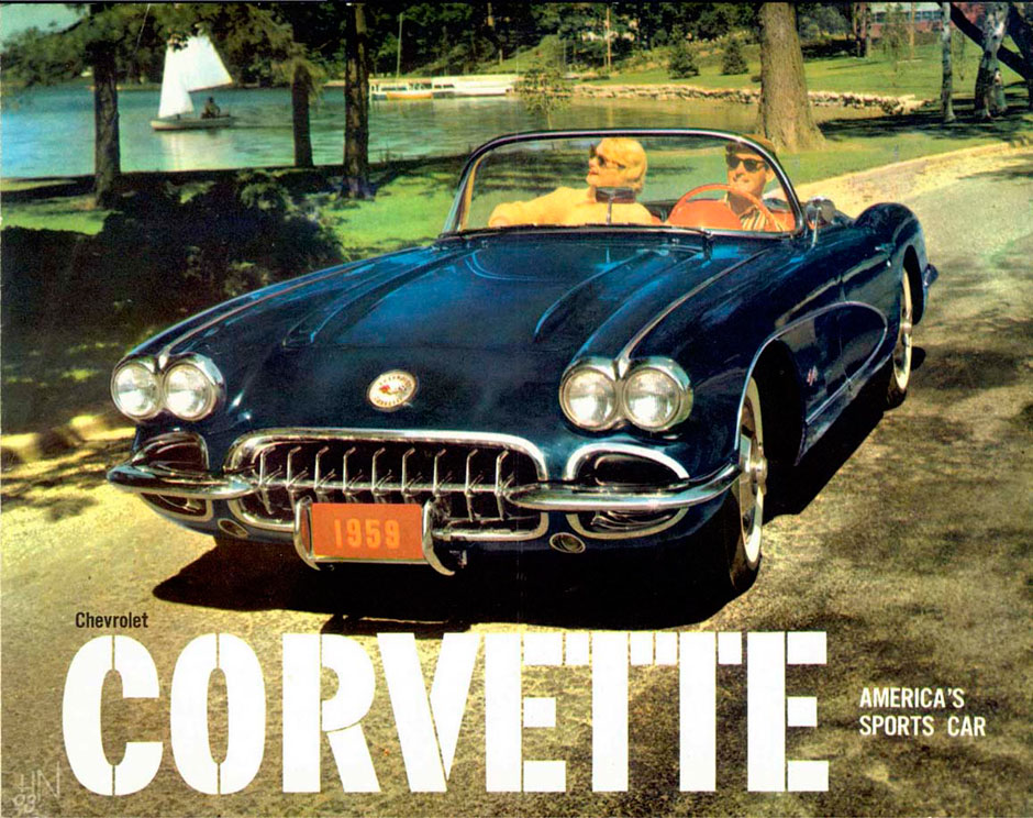 Chevrolet Corvette C1 283 V-8 270-hp
