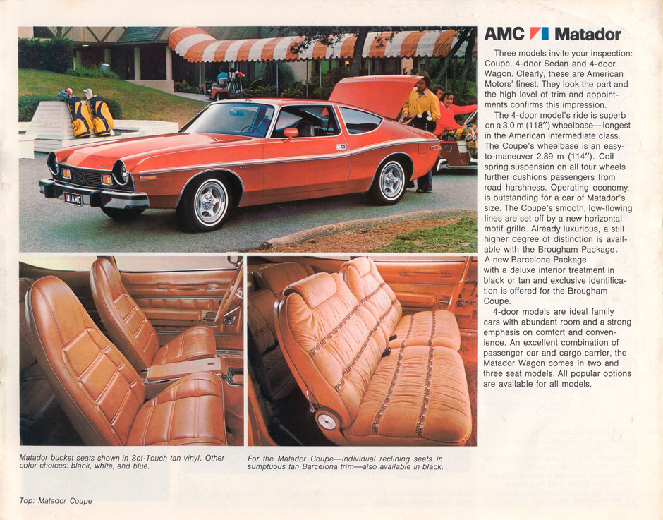 AMC Matador Coupe V-8