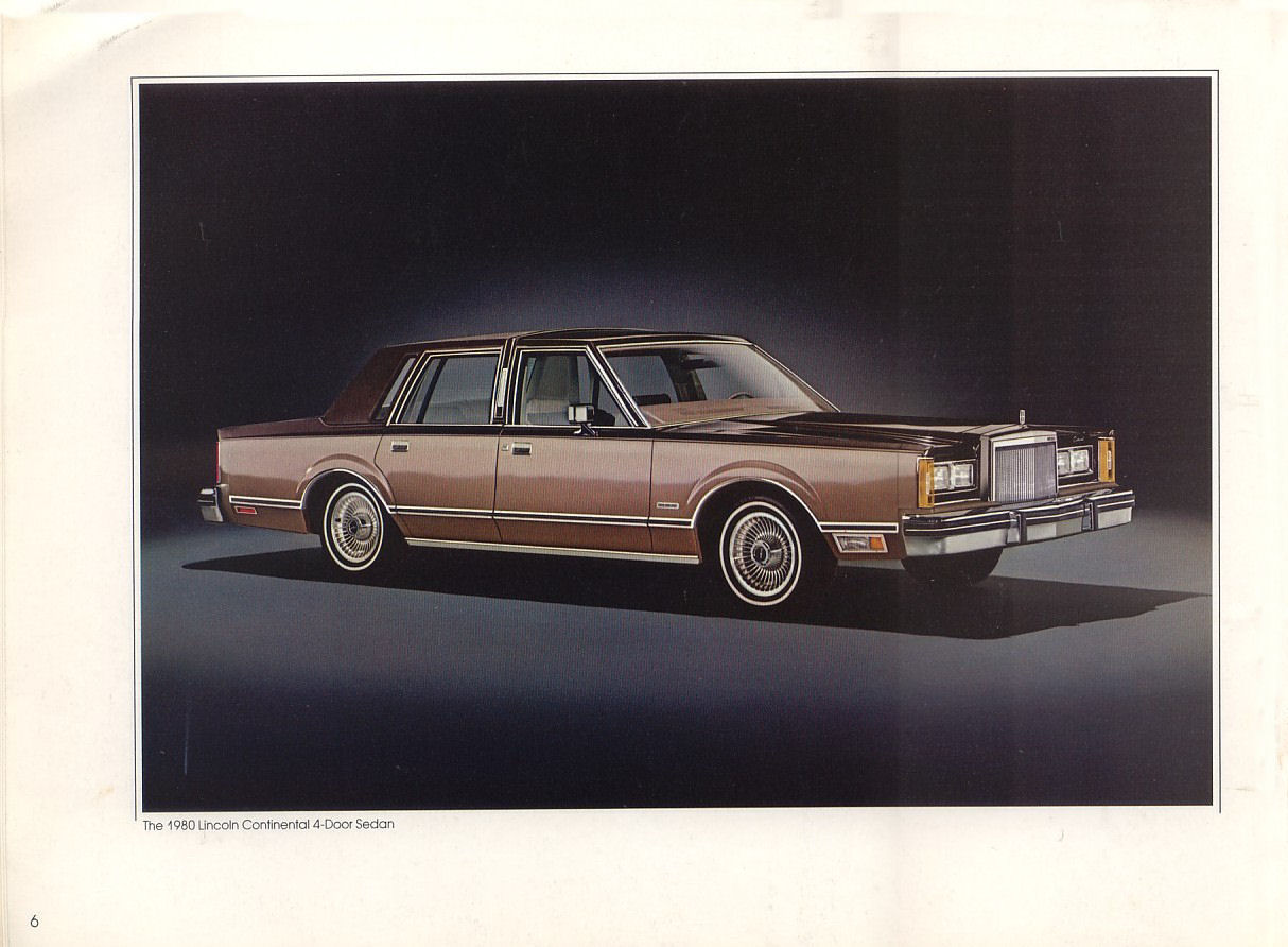 lincoln continental town car 1980. Black Bedroom Furniture Sets. Home Design Ideas