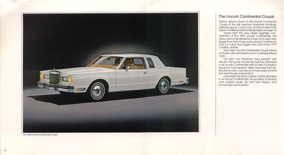 Lincoln Continental Town Coupe 1980