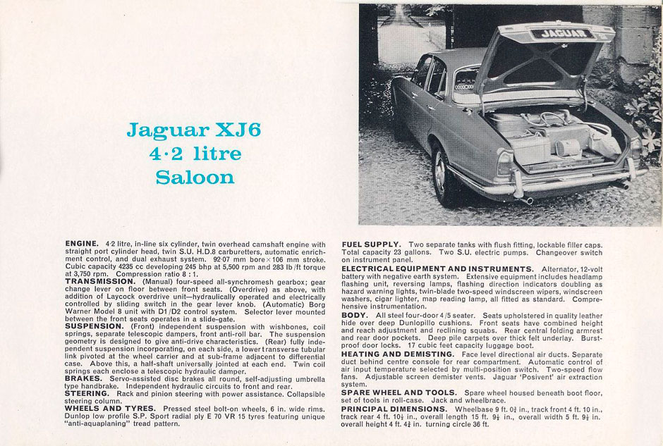 Jaguar 240 overdrive