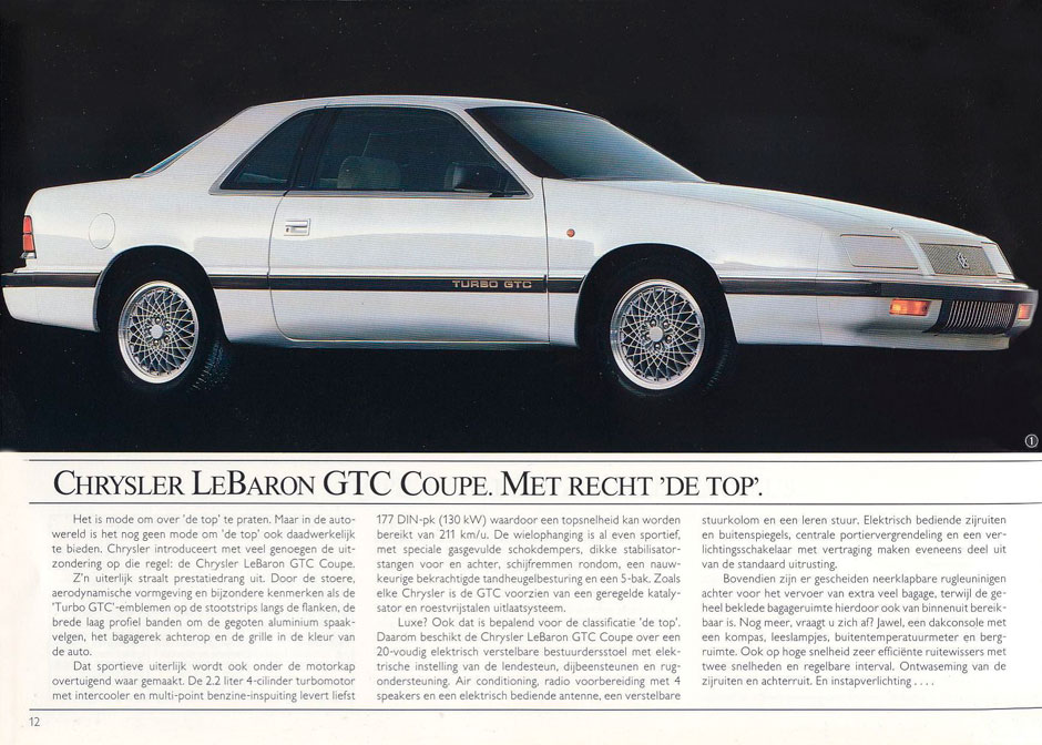 Chrysler Le Baron 1989