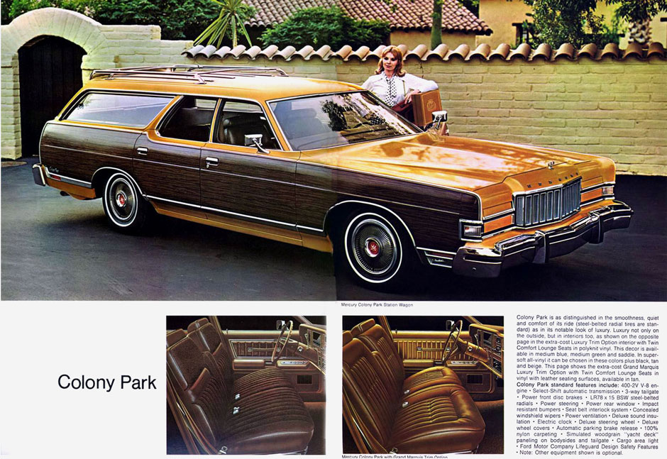 Mercury Marquis Colony Park 1974