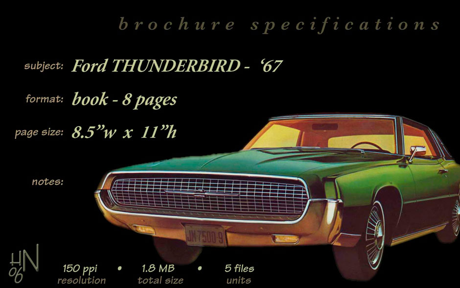 Ford Thunderbird 1967