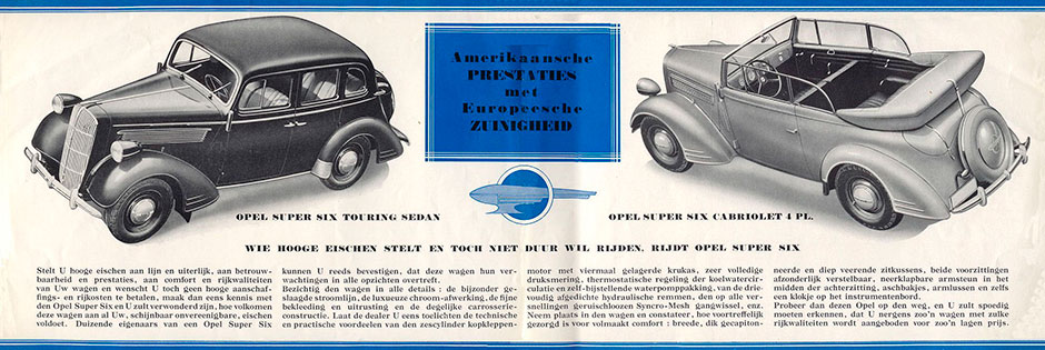 Opel Super Six 1936