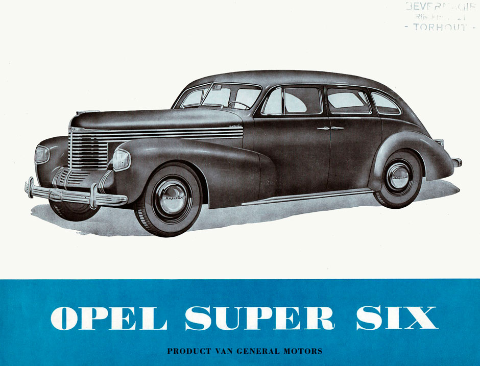 Opel Super Six 1939