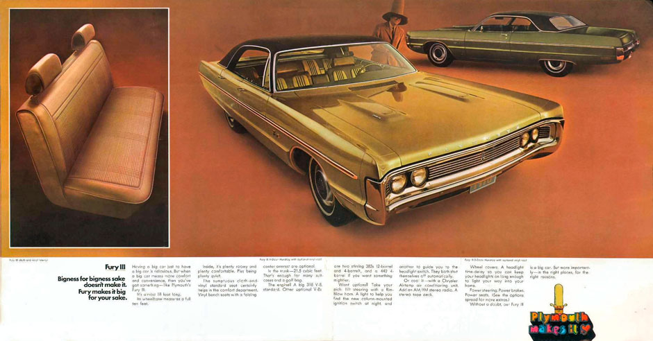Plymouth Fury 1970