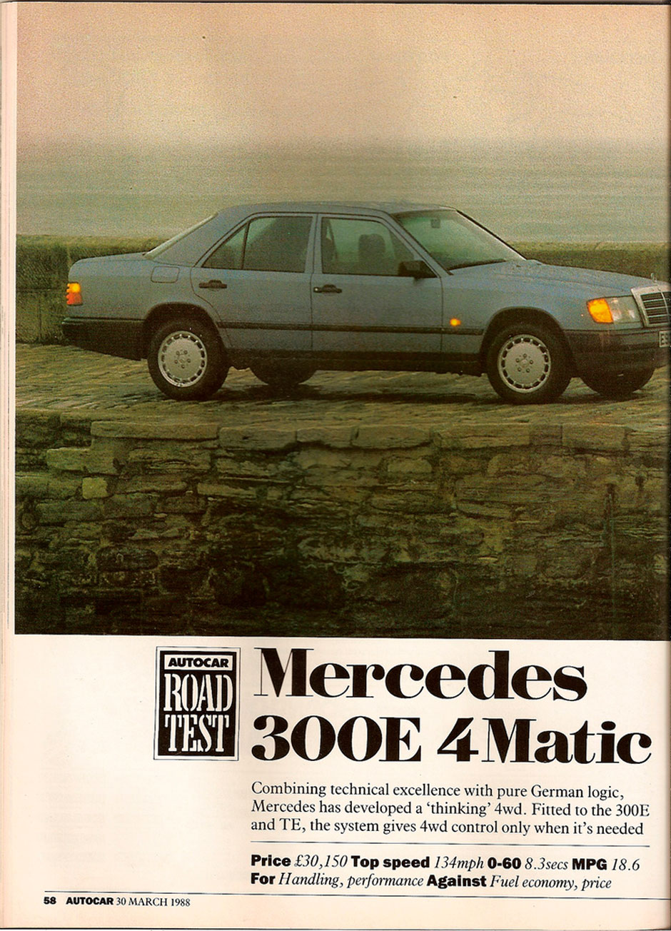 Mercedes 300E 4Matic W124