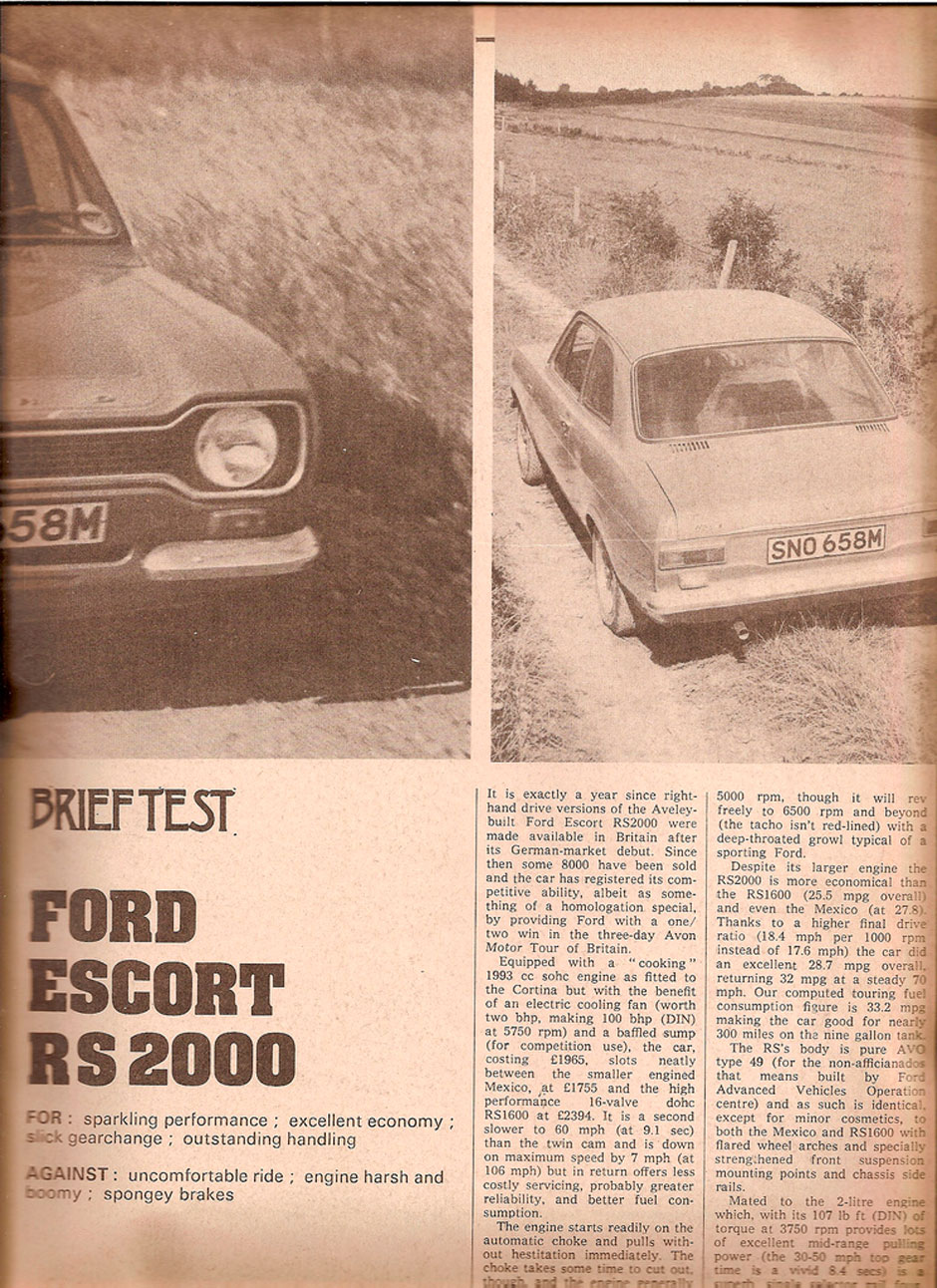 Ford Escort RS2000 Mk1