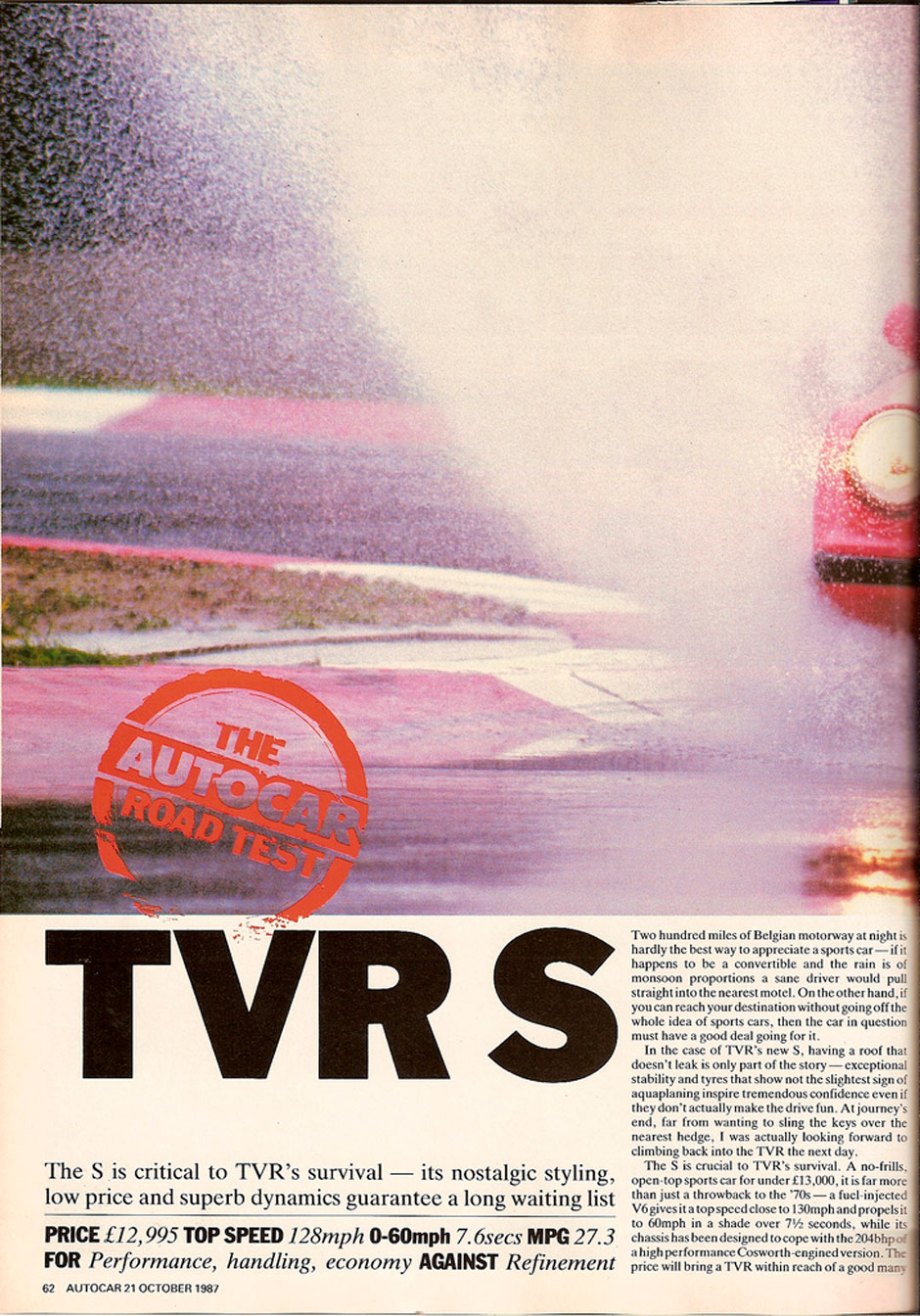 TVR S