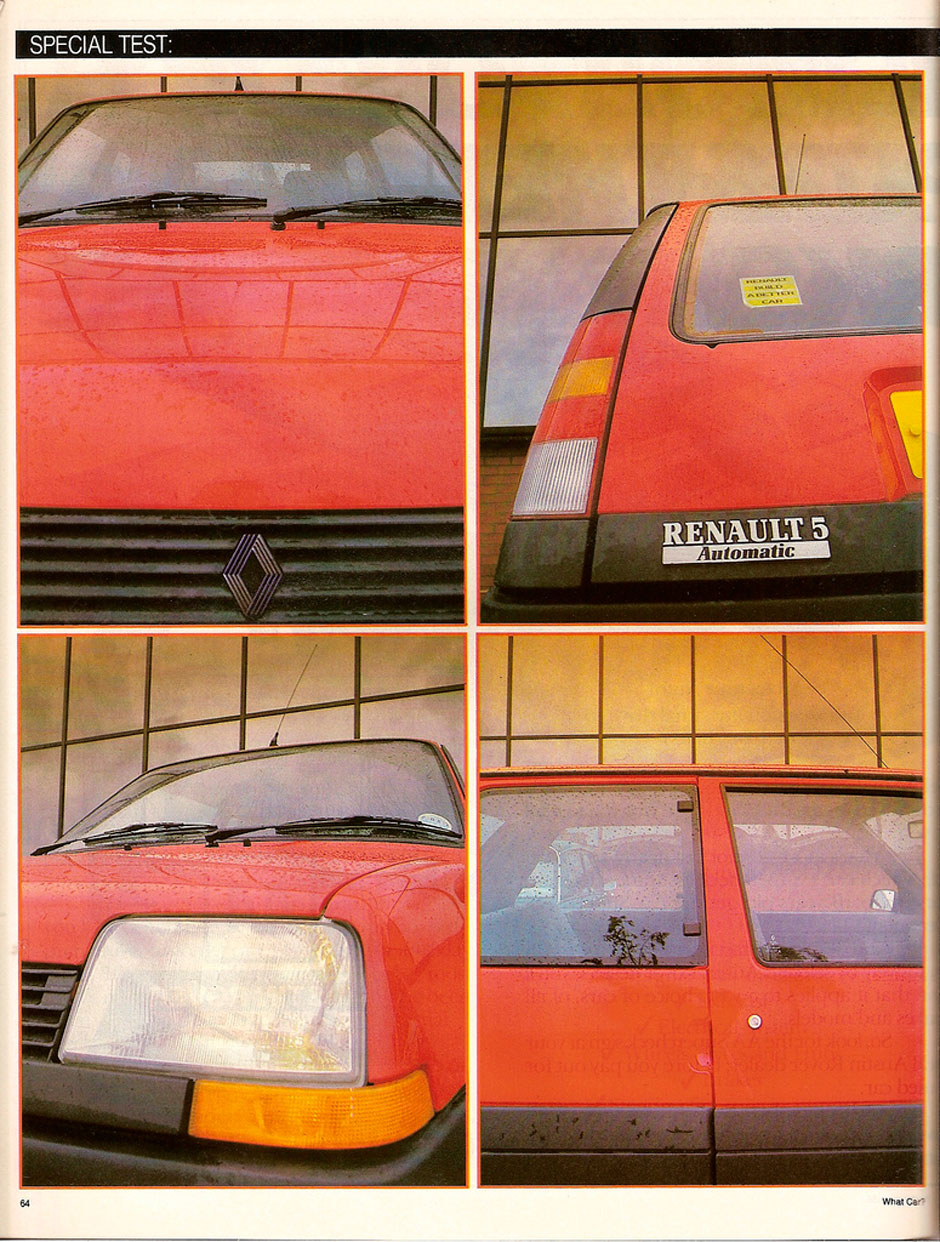 Renault 5 1.4 Automatic