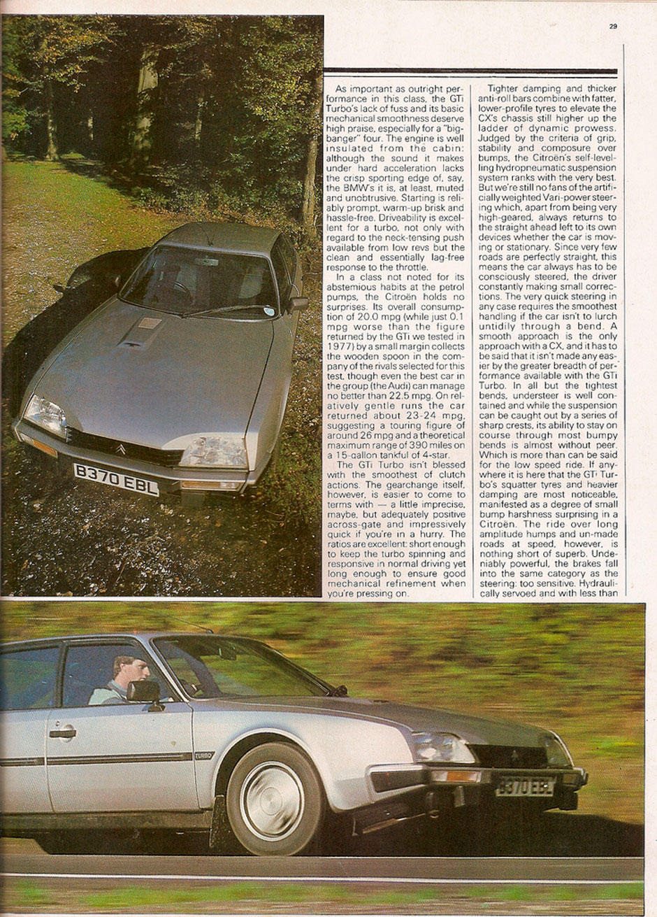 Citroen CX 25 GTi Turbo S1