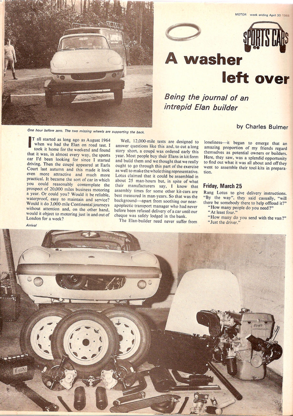 Lotus Elan S1 Coupe