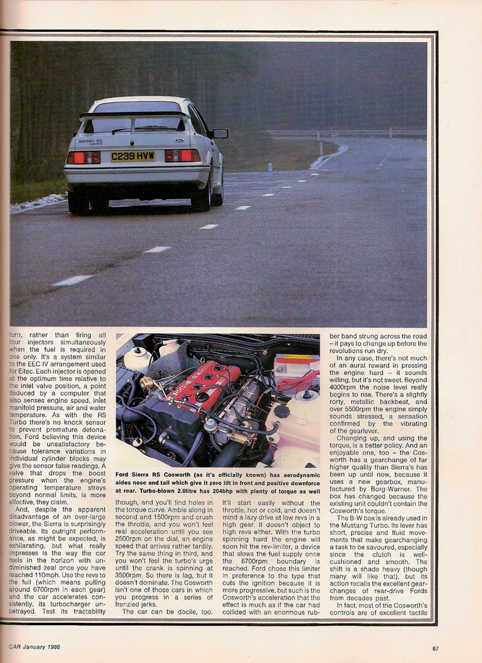 Ford Sierra RS Cosworth 3-dr