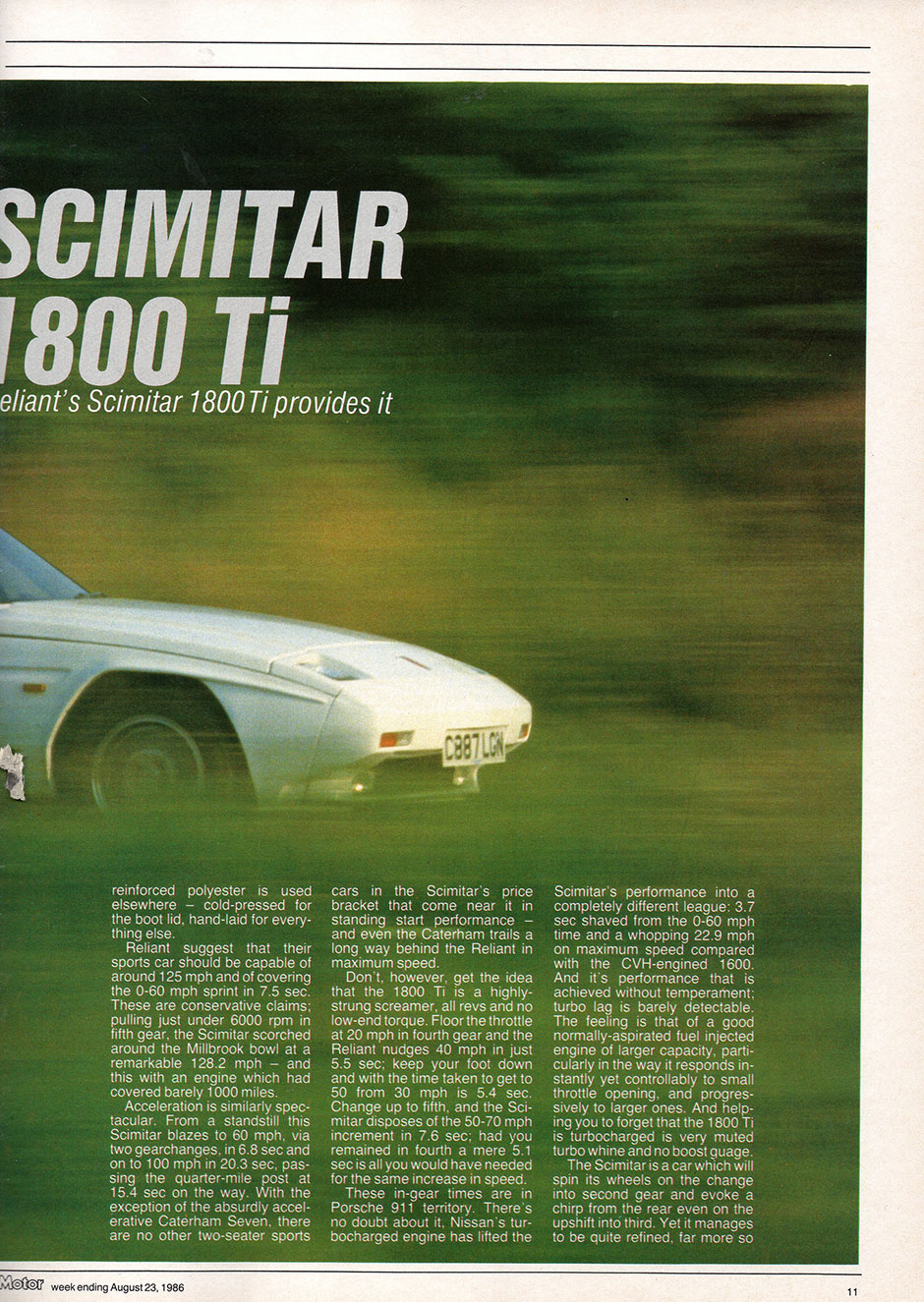 Reliant Scimitar 1.8 Ti