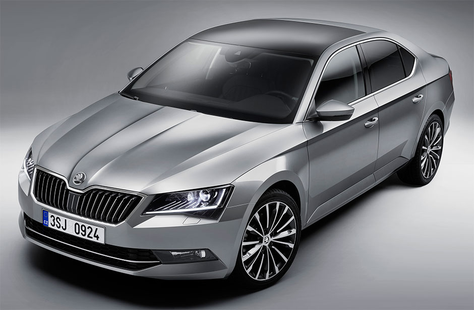 skoda superb 2016. Black Bedroom Furniture Sets. Home Design Ideas