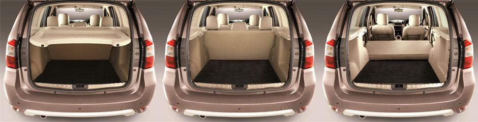 Объем багажника ниссан террано 2015