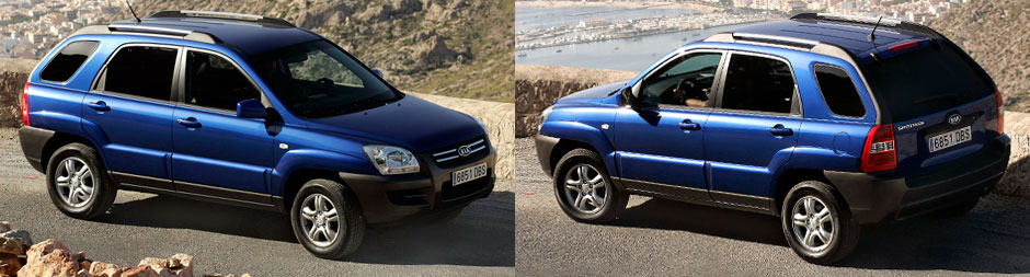 Kia Sportage 2 поколения