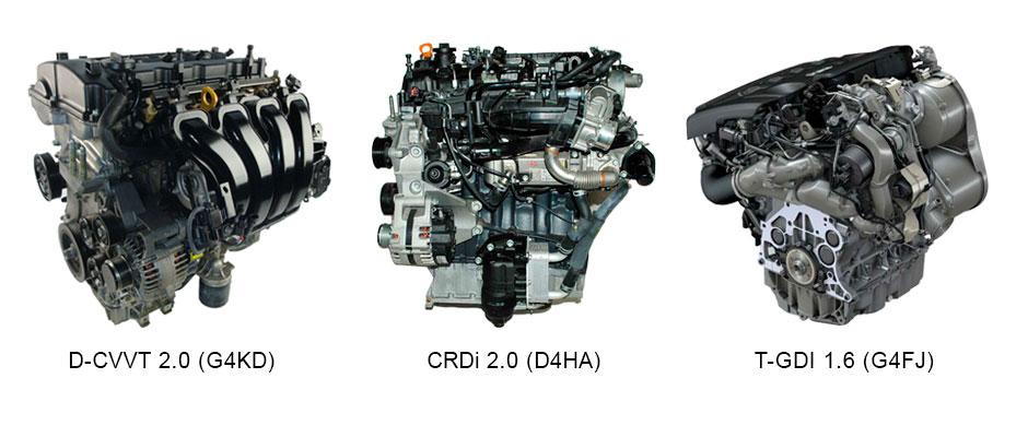 Kia Sportage двигатели