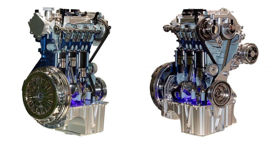 Ford Focus 2017 двигатель