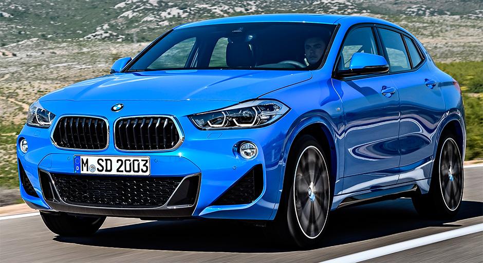 BMW X2 2018 года