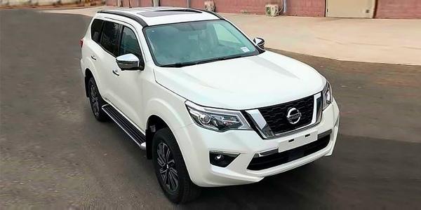 Nissan Terra 2018-2019 фото видео цена характеристики нового внедорожника от Ниссан
