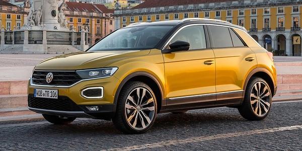 Volkswagen T-Roc 2019 цены для России, комплектации новой модели, фото, видео