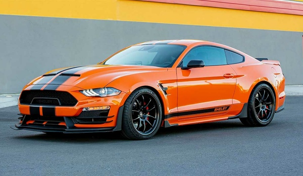 Ford Mustang выдал Carroll Shelby Signature Series