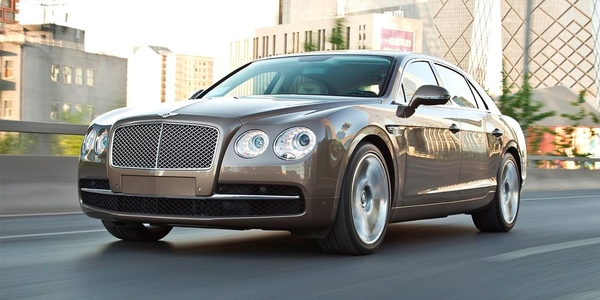Тест-драйв суперкаров Bentley Flying Spur и Mercedes S65 AMG
