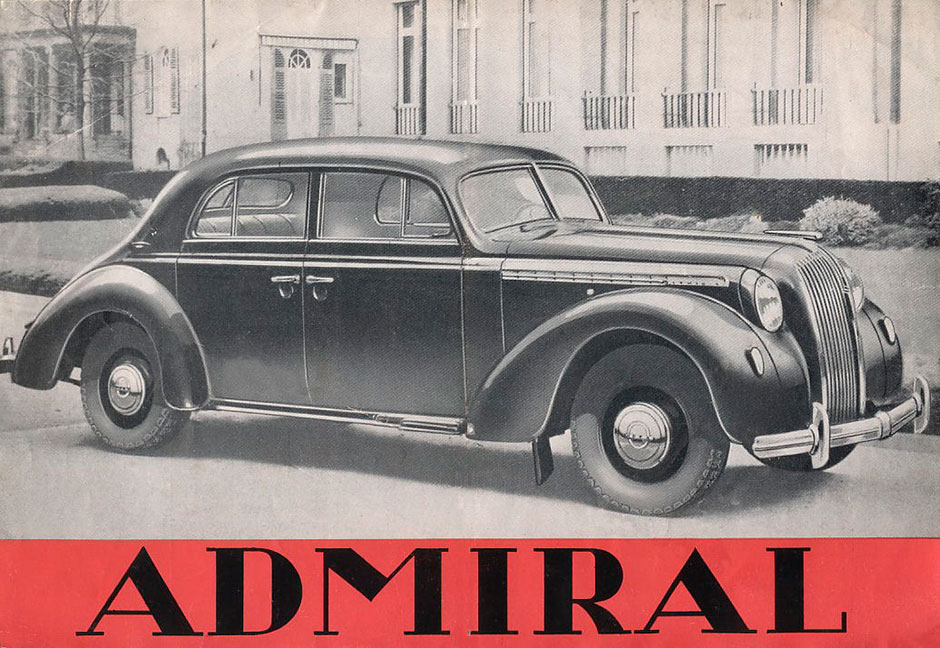 Opel Admiral 1937