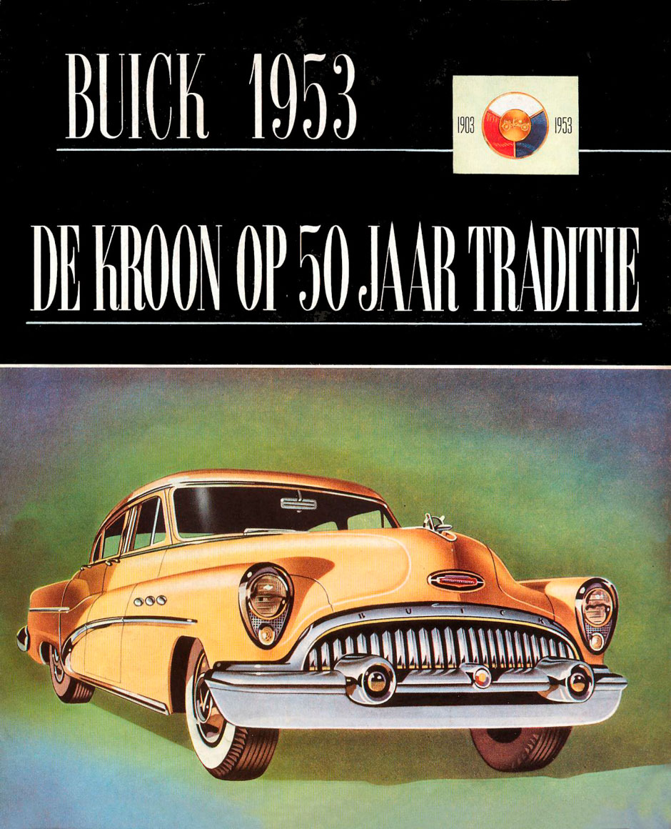 Buick Series 50 Super Tourback Sedan Dynaflow