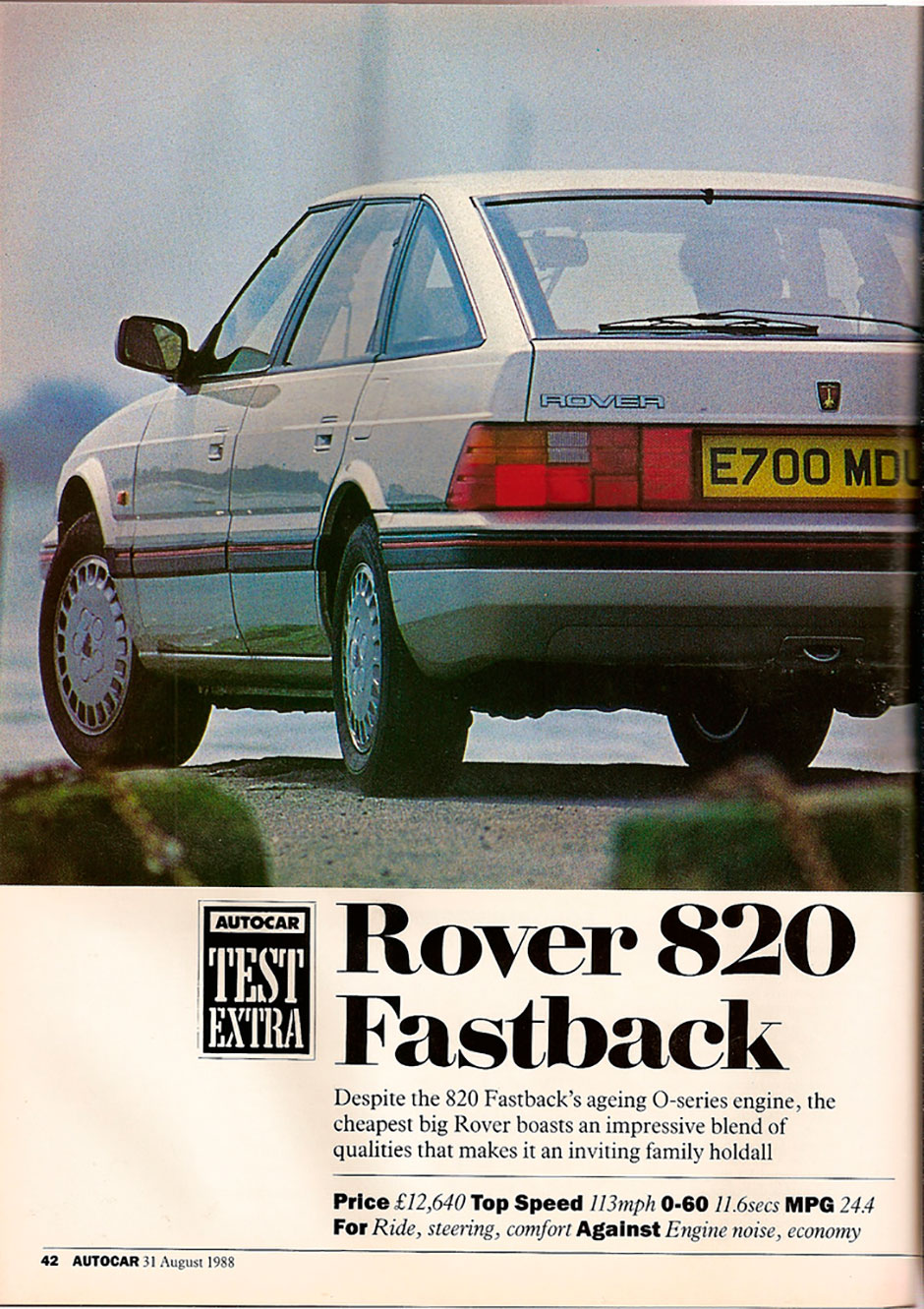 Rover 820 Fastback