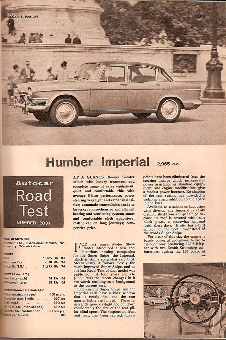 Humber Imperial 3000